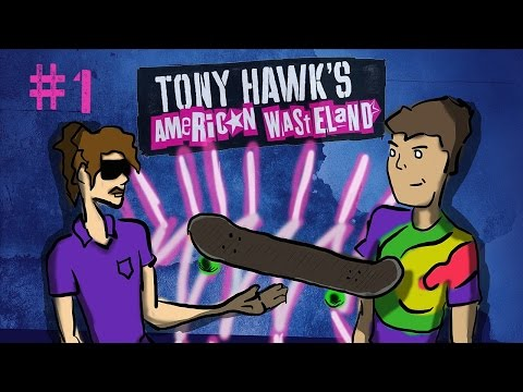 Tony Hawk's American Wasteland - Episode 1 - The Legend of Chad Squeeeguul