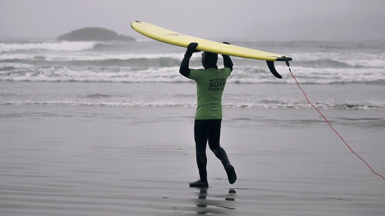 Surfs Up SecondHand Van Kijiji Canada YouTube - Surfing inside 27 second long barrel wave