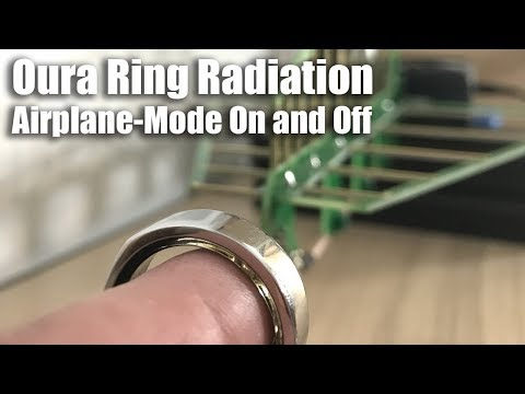 Oura Ring Rf Radiation Exposure Airplane Mode On And Off Youtube