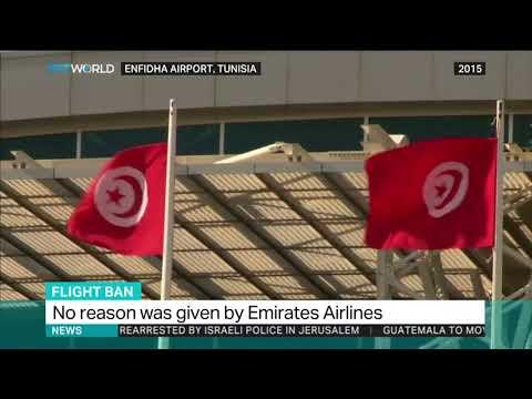Tunisia bans all UAE Emirates flights