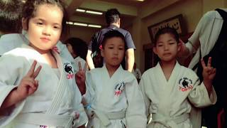 Treino de judo susu categoria Júnior Japão