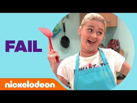 Lizzy Greene's Epic Cooking Fail 🍳Omelet Catastrophe  Nicky, Ricky, Dicky & Dawn  Nick