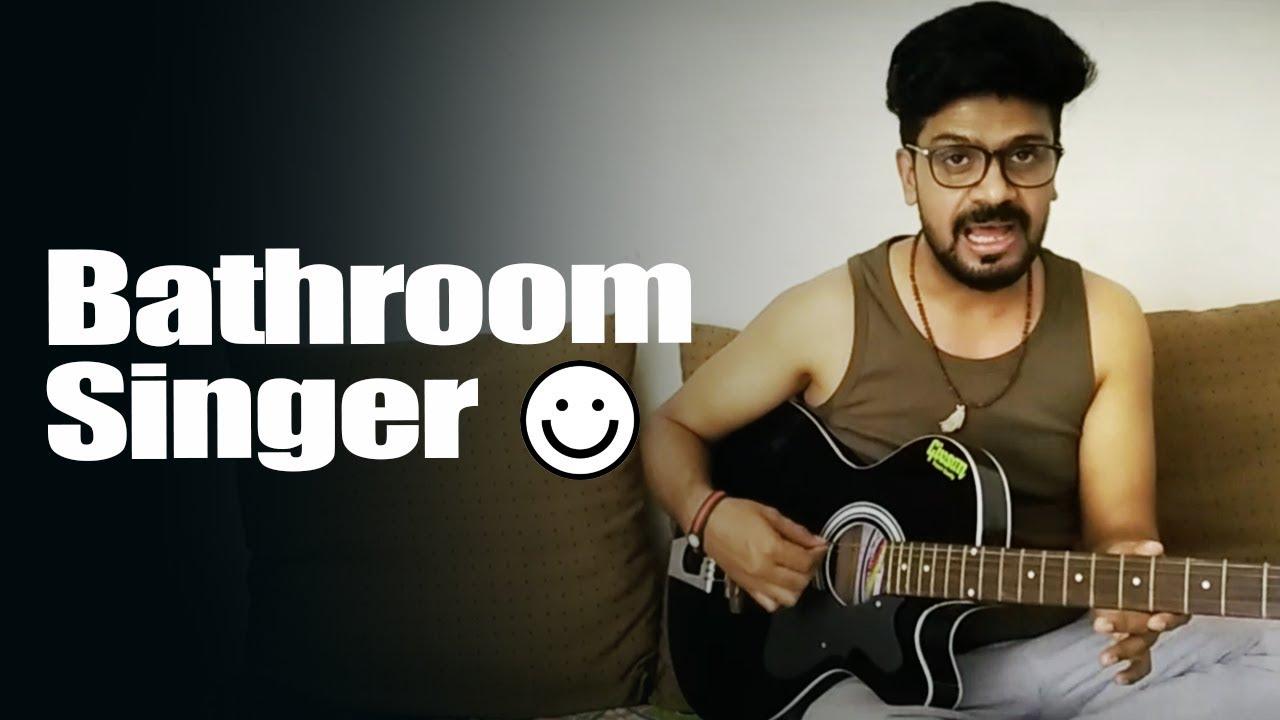 Bathroom Singer by Kreative town