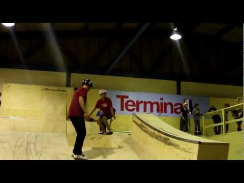 Terminal 1 SkatePark opening day!