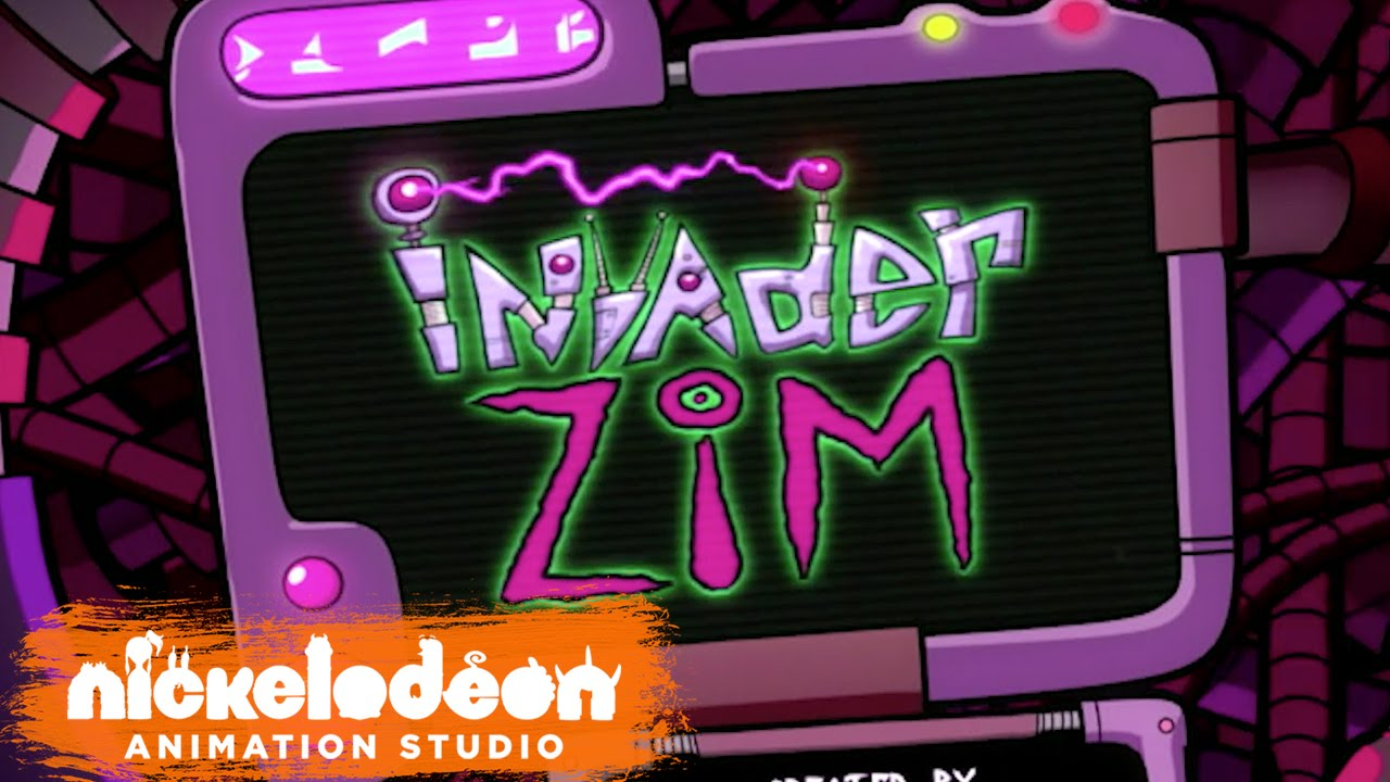 invader zim theme song hq episode opening credits nick