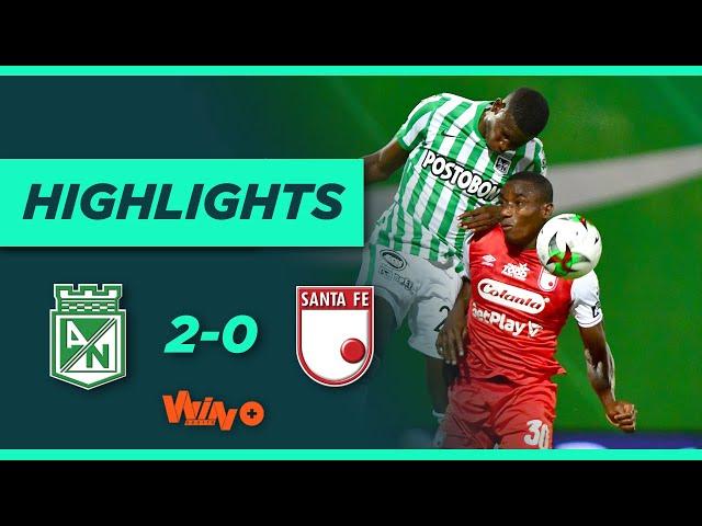 Nacional vs. Santa Fe (Goles y highlights) | Liga BetPlay Dimayor 2021 -   Fecha 1