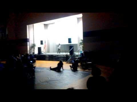 Darlington middle school talent show in 2014 (4)