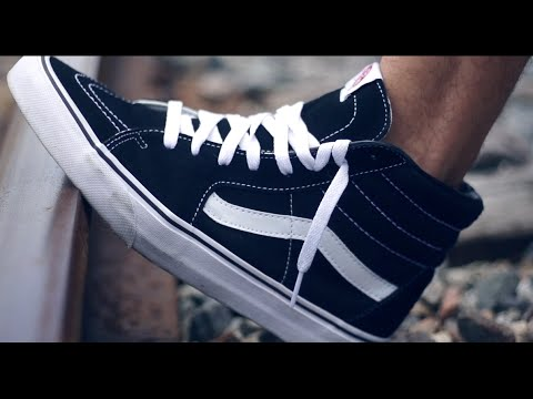 a59054c0e4c5 How To Wear Vans Sk8 High Tops (3 Different Oufits) - YouTube