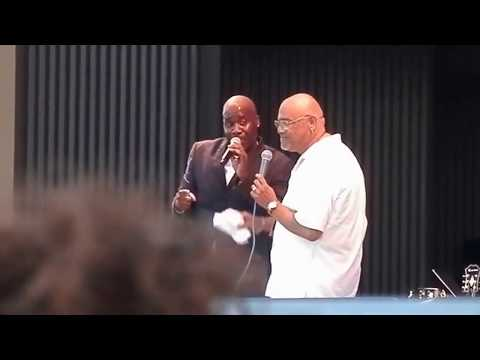 Will Downing Ft. Phil Perry 'Send For Me' (LIVE) @ The SeaBreeze Jazz Fest 2014.