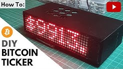 How To Build a DIY Bitcoin Price Ticker Powered by a Raspberry Pi | Step-by-Step Instructions
