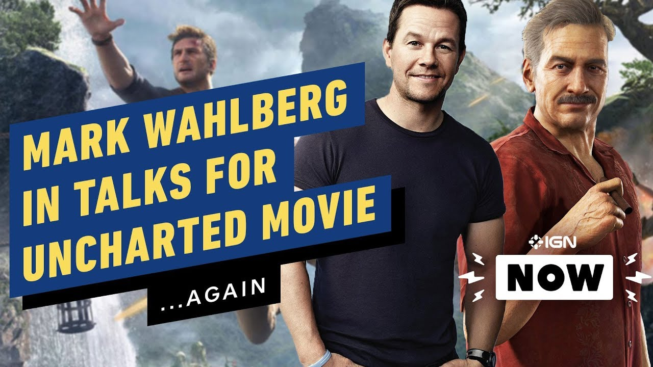 Uncharted Movie Mark Wahlberg In Talks To Play Sully Ign Now