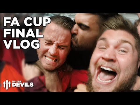 FA Cup Final 2015/16 VLOG! | Crystal Palace vs Manchester United