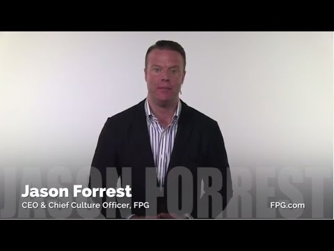 Jason Forrest - CEO & Chief Culture Officer, Forrest Performance Group (FPG)