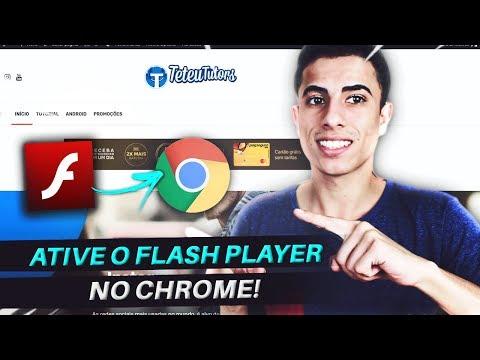 Como Ativar O Adobe Flash Player No Chrome