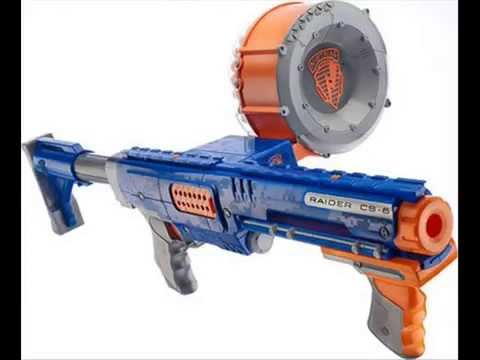 The best nerf guns in the world youtube for Nerf motorized rapid fire blasting