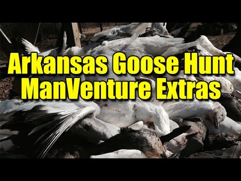 AR Goose Hunt ManVenture Extras: Cleaning Geese