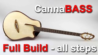 Making an Acoustic Bass Guitar - the \