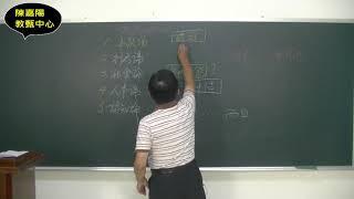 教檢一次就高分,陳式解題法
