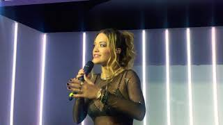 Rita Ora - I Will Never Let You Down ( Live at Tezenis Private Party, Moscow ) 30.11.17