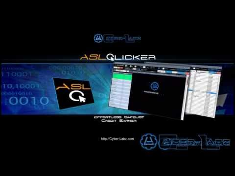 ASLClicker - Product Demo