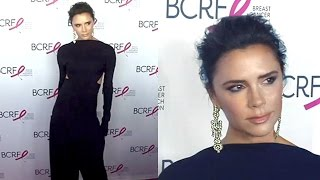 Victoria Beckham Shows Of Newly Enhanced Lips A The Hot Pink Party