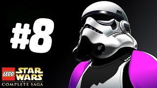 КТО ЭТО?! - Lego Star Wars: The Complete Saga Прохождение - Часть 8
