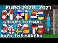 Beat The Keeper ⚽ EURO 2020 2021 ⚽ Group Matches to Final