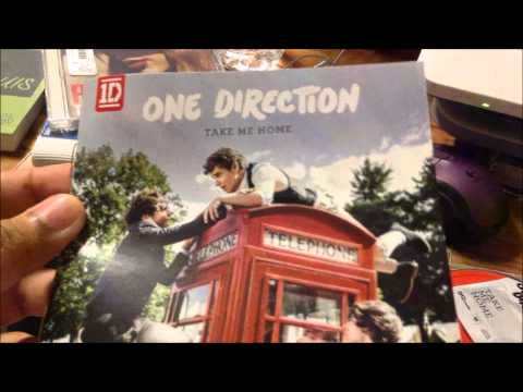 [Unboxing] One Direction - Take Me Home Album