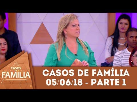 Quer Que Eu Goste Do Seu Marido? Então... - Parte 1   Casos De Família (05/06/18)
