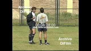 DiFilm - Primer entrenamiento de Boca con Hector Veira (1996)