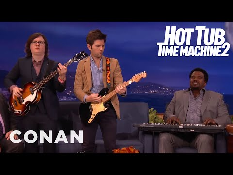 "Craig Robinson Sings The ""Hot Tub Time Machine 2"" Song  - CONAN on TBS"