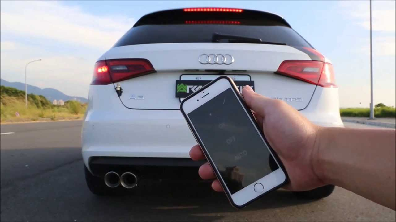 Audi A TFSI With Armytrix IPhone OBDII Valvetronic - Audi official website