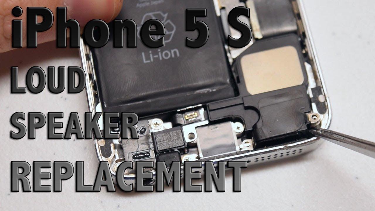 iPhone 9s Loud Speaker Replacement