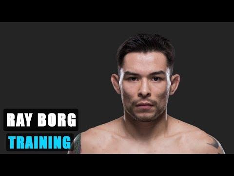 Ray Borg Fight Training | Hard Workout