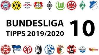 Bundesligatipps 10.Spieltag 2019/2020