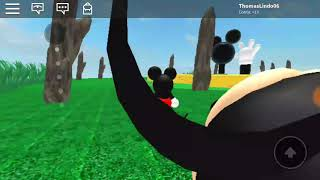 ROBLOX ea casa do mickey mouse da disney