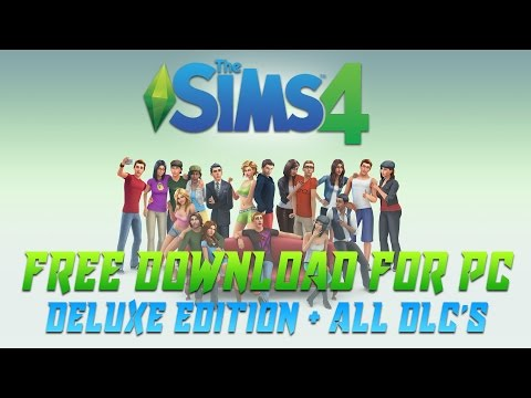 download the sims 4 deluxe edition google drive