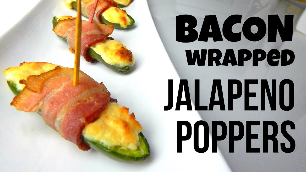 Bacon Wrapped Jalapeno Poppers (simple Homemade Recipe, How To Cook, Diy)   Inspire To Cook