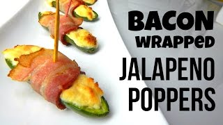 Bacon Wrapped Jalapeno Poppers (simple Homemade Recipe, How To Cook, Diy) - Inspire To Cook