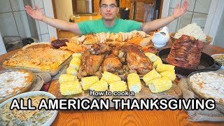 How to cook a ALL AMERICAN THANKSGIVING