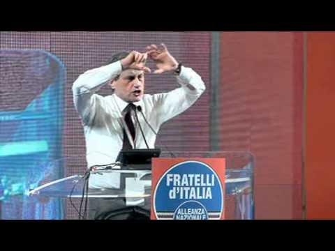 L'intervento di Gianni Alemanno al Congresso Nazionale Fdi-An