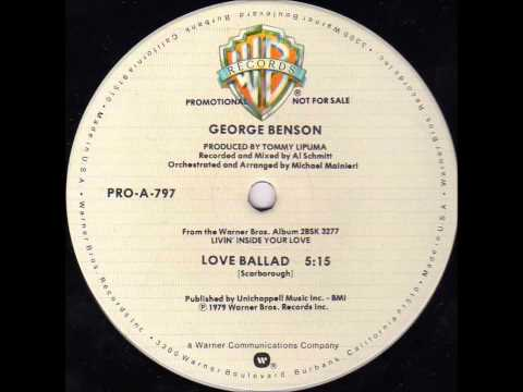 George Benson ‎-- Love Ballad (extended version)