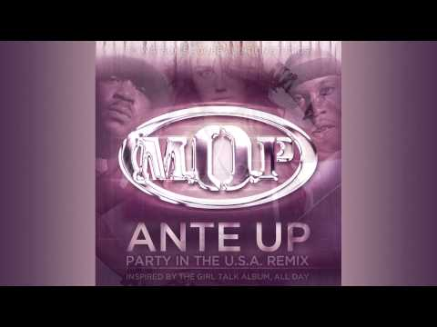 """""""Ante Up (Party In The U.S.A. Remix)"""" M.O.P. vs. Miley Cyrus, inspired by Girl Talk"""