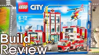 [생방송] 레고 시티 60110 소방서 조립 과정 리뷰 LEGO CITY Fire Station Build Review