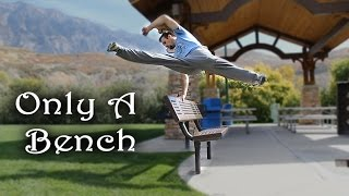 Only a Bench - Simple Object Parkour Training