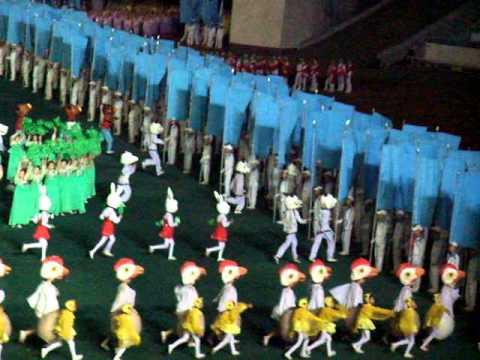 "Arirang Mass Games ""5"" - Pyongyang - 25/09/2010"