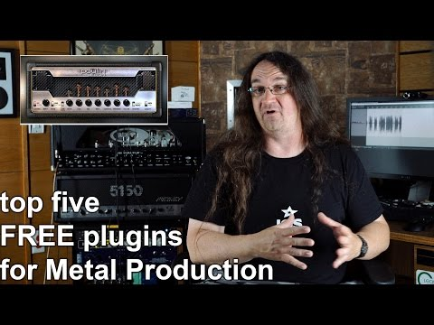 The top five FREE PLUGINS for Metal Production | SpectreSoundStudios REVIEW