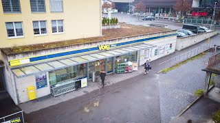 Bison Mobile Store bei Volg im Einsatz