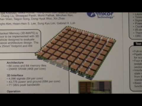 ISSCC 2012: 10.6 3D-MAPS: 3D Massively Parallel Processor with Stacked Memory
