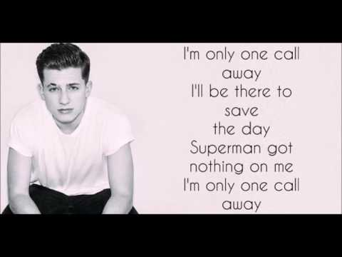 One call Away lyrics